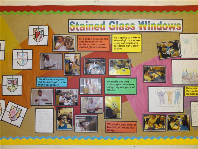 School Stained Glass Art Projects