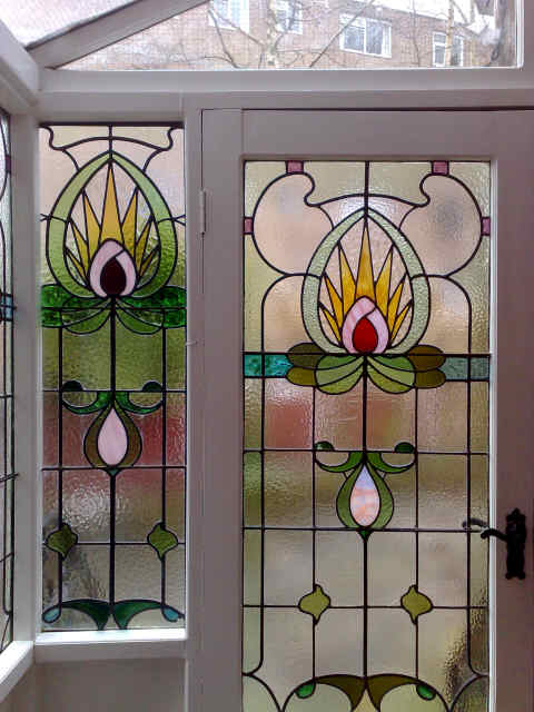 Stained glass window design gallery leaded light windows for Window glass design images