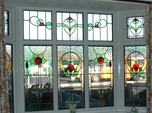 Beautiful new stained glass expert repairs double and for 1930s stained glass window designs